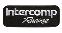 INTERCOMP RACING EMBROIDERED PATCH